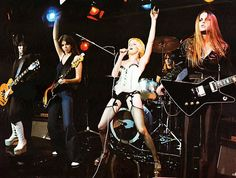 The Runaways - Cherie Currie, Joan Jett, Lita Ford