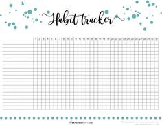 40 ideas to track in your daily habit tracker free printable daily habit tracker. Daily Planner Printable, Weekly Planner Printable, Planner Template, Schedule Printable, Schedule Templates, Printable Calendars, Tracker Free, Mood Tracker, Daily Planner Pages