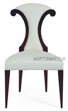 Scroll Back Viennese Secessionist Style Dining Chairs