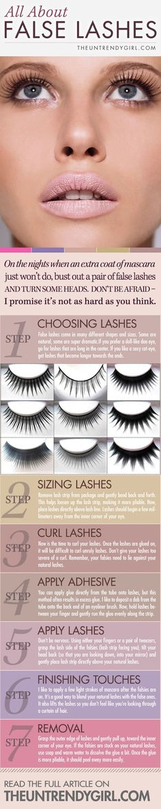 false lashes 101 must try