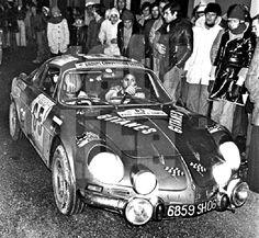 1974 TdC: Michelle Mouton, Alpine-Renault A110 1800, 12th