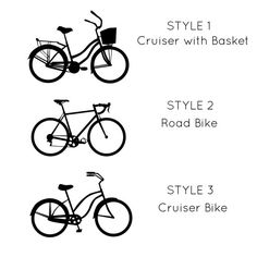 Hey I Found This Really Awesome Etsy Listing At Httpswwwetsy - Custom vinyl decals bicycle