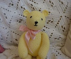 Ravelry: Buttercup Bear pattern by Janet McMahon