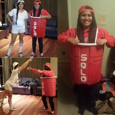 red solo cup halloween costume holiday stuff pinterest halloween costumes and halloween ideas