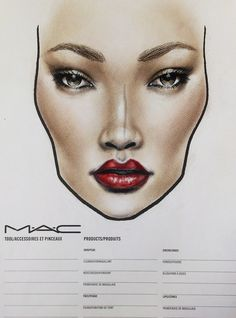 VIVA GLAM Riri - get the look @ MAC, by Amalia Bot