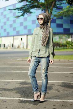 Liani style inspiration  Indah Nada Puspita