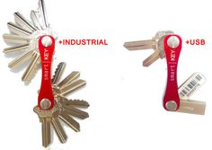 KeySmart Makes Carrying A Lot Of Keys Less Of A Burden    ---  from InventorSpot.com --- for the coolest new products and wackiest inventions.
