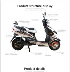 3 Wheel Electric Scooters Triad 750 Electric Scooter for