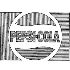 Pepsi logo registered as trademark on this day in 1973. First use in 1970. #Pepsi #soda #logo #trademark #branding