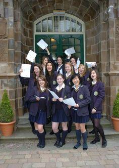 Altrincham Grammar School for Girls A*-G (A*-C) School Uniform Outfits, Cute School Uniforms, Girls Uniforms, Uniform Ideas, School Girl Dress, Girls School, British School Uniform, British Schools, Grammar School