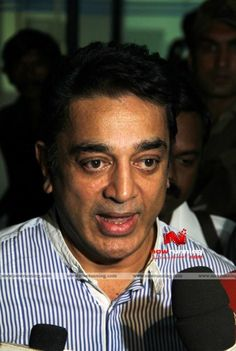 Ulaganayagan in Chennai Airport. More at