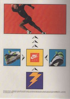 Some vintage Nike Air Huarache ads ... It's Nike Air Huarache week at CT. A weird shoe ...