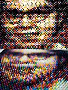 Mind-Blowing Crayon Pixel Art - TechEBlog