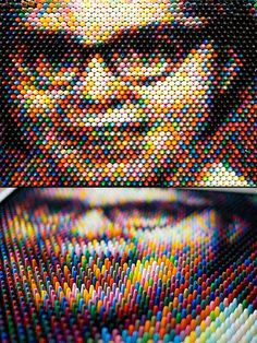 Mind-Blowing Crayon Pixel Art - TechEBlog