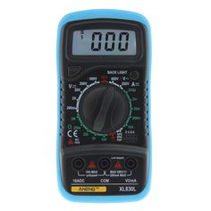 ANENG XL830L LCD Digital Multimeter Current Voltage Resistance Transistor Temperature Tester