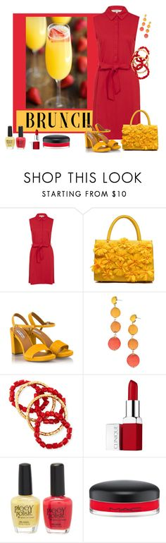 """""""brunch"""" by pam-doel on Polyvore featuring Fratelli Karida, Armitage Avenue, NEST Jewelry, Clinique, Piggy Polish and MAC Cosmetics"""