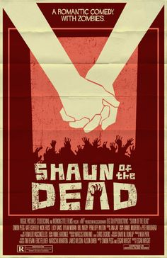 Shaun of the Dead poster by markwelser.deviantart.com
