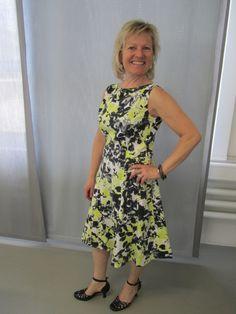 Sommer Kleid nähen 34-48