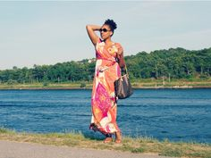 Dress via Strawberry, Jeffrey Campbell Sandals, Louis Vuitton Handbag #bags #fashion