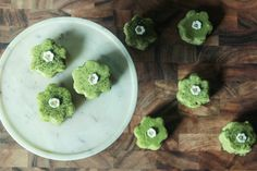 Matcha Amaretto Petit Fours — Probably This