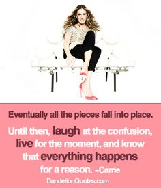 Motivational - words - quotes - Eventually all the pieces fall into place - inspirational