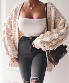 16 Best Cardigans for Women & Stylish Women& Cardigans for Fall 2019 Cute Casual Outfits, Girly Outfits, Mode Outfits, School Outfits, Stylish Outfits, Teenage Outfits, College Outfits, Simple Outfits, Casual Shoes