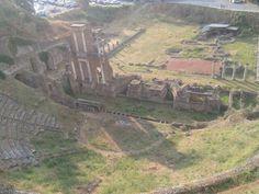 Romeinse opgraving in Volterra