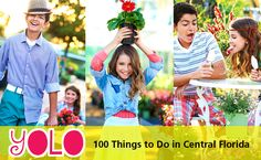 YOLO: 100 Things to Do This Summer in Central Florida By PLAYGROUND Mag | Published: April 30, 2014