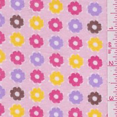 Pink Floral Jersey Knit - Discount Fabrics