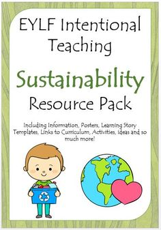 Share for a discountHelp build the DBT Australian network by sharing and a discount will be applied to your purchase at checkout. Share This pack contains everything you will need to teach, display and document sustainability in your early childhood room. It includes editable documents, posters, games and ideas to promote sustainability in your classroom. …