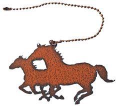 Rustic Home Decor Metal Fan Light Pull Horse Kokopelli Roadrunner Moose Star