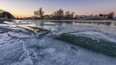 After I came back from Iceland I started to take shots of Hungary's biggest lake, Balaton. There is an amazing iceworld in winter when it freezes. One of my favourite places in our country. Big Lake, Hidden Beauty, Our Country, Bored Panda, Hungary, My Dream, Frozen, River, Dreams