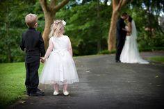 Adorable Wedding Shot