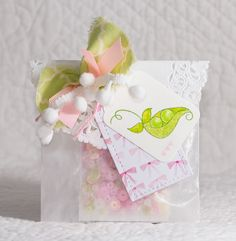 Sweet Pea Stamp Set ~ New Release