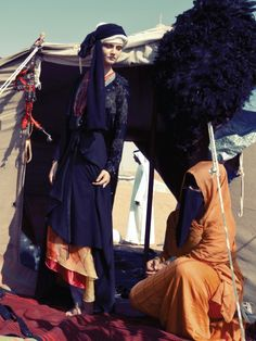 A Bedouin Story Shoot