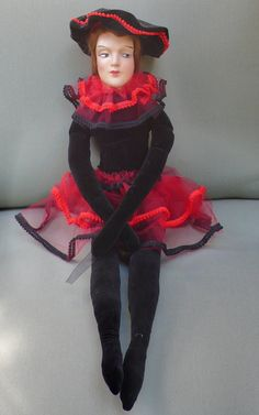 Boudoir Pierrot Anita style doll