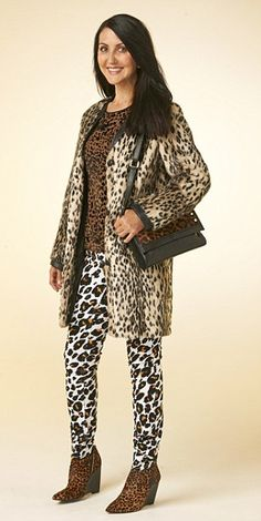 Pattern Mixing Guide: Never wear more than one type of animal print. Never mix leopard, zebra or giraffe!