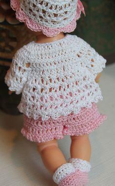 2 PDF PATTERN Crochet 8 inch Vogue Vintage by charpatterns on Etsy