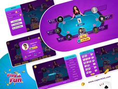 Take a look at our at our latest game design & development work. Capermint Technology Pvt Ltd is a leading game development company with the team of highly knowledgeable and experienced game app developers. Mobile Game Development, Game Development Company, Design Development, Game Design, Ui Design, Poker Games, Game App, Games To Play, Cool Designs