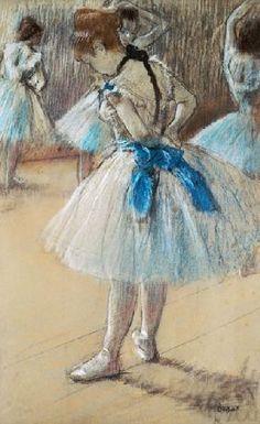 The  Dance Studio 1878 ~ Edgar Degas ~ (French 1834–1917)