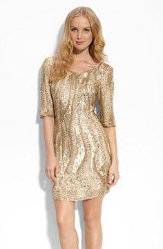 More gold  Gold Dress #2dayslook #susan257892  #GoldDress  www.2dayslook.com