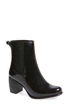 Jeffrey Campbell 'Clima' Chelsea Rain Boot (Women) available at #Nordstrom