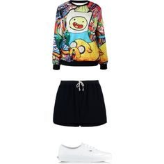 A fashion look from March 2015 featuring Rick Owens shorts and Vans sneakers. Browse and shop related looks.