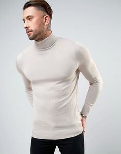 Turtleneck Sweater | Men's Roll Neck Jumper | ASOS