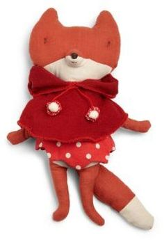 Maileg Plush Red Hood Fox #doll #plush