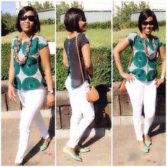 Auntie Nini looks fb in her b'venaj africhiffon top Latest African Fashion Dresses, African Print Dresses, African Print Fashion, Africa Fashion, African Dress, African Blouses, African Tops, African Women, Ankara Tops