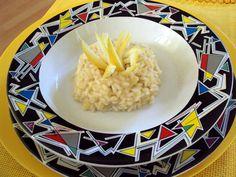 risotto allo zenzero con scorze di limone