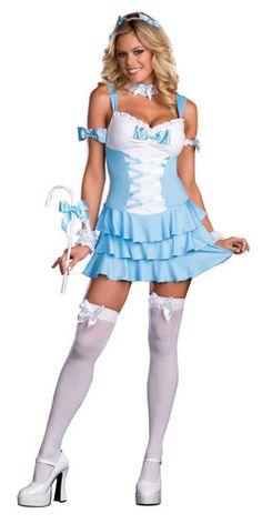 Sexy Bo Peep sexy Halloween costume - cute fairytale idea