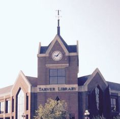 "Tarver Library sits next to the University center on Mercer's campus. The architecture of the building is symmetrical in a way that one side is proportional in shape and size to the other side. Even the letter ""T"" at the top of the building is symmetrical."