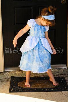 Cinderella Ball Gown Dress everyday princess by madeformermaids, $7.00